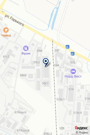 АЗС № 4 ПРОТОН на карте Хабаровска