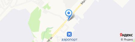 Аэрополис на карте Хабаровска
