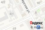 Схема проезда до компании Сельская новь в Тополево
