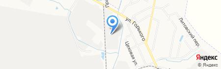 ХСТК на карте Хабаровска
