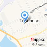 Средняя общеобразовательная школа на карте Хабаровска
