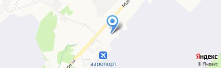 Авиамаркет на карте Хабаровска