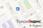 Схема проезда до компании Банкомат, МТС-банк в Тополево