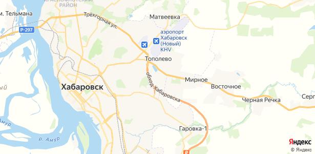 Тополево на карте
