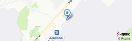 Терминал-Карго на карте Хабаровска