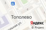 Схема проезда до компании Союзпечать в Тополево