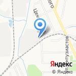 Родник на карте Хабаровска
