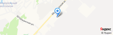 Мерседес-Бенц на карте Хабаровска