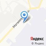 Авиа-Альянс на карте Хабаровска