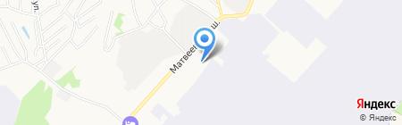 Пиломатериалы на карте Хабаровска