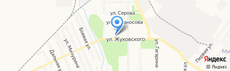Детский сад №10 на карте Хабаровска