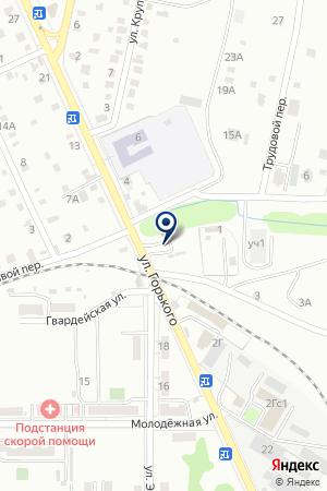 АЗС № 7 ТОРГОВАЯ КОМПАНИЯ ВОСТОК НЕФТЕСБЫТ на карте Хабаровска