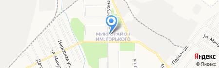 Георгий на карте Хабаровска