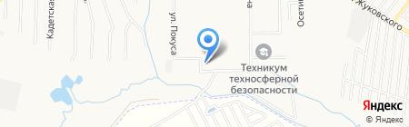 Хабаровский специальный дом ветеранов №2 на карте Хабаровска
