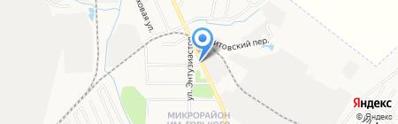 Магазин мясных изделий на карте Хабаровска