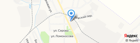 Автомойка на ул. Горького на карте Хабаровска