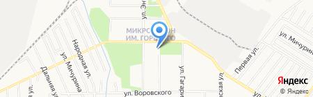 Библиотека семейного чтения на карте Хабаровска