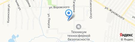 Детский сад №185 на карте Хабаровска