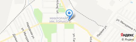 Веселый пельмешек на карте Хабаровска