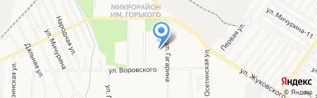 Детский сад №140 на карте Хабаровска