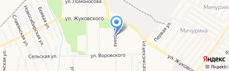 Молот`ok на карте Хабаровска