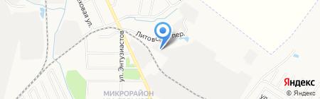 ДальАПЕКС на карте Хабаровска