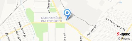 Хабсудмаш на карте Хабаровска