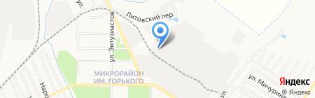Стройтех ДВ на карте Хабаровска