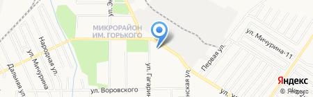 Специальное профессиональное училище открытого типа г. Хабаровска на карте Хабаровска