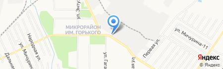 Автомеханик на карте Хабаровска