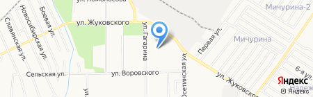 Сеть муниципальных бань на карте Хабаровска