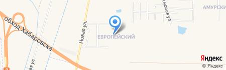 Campo Verde жилой комплекс на карте Хабаровска