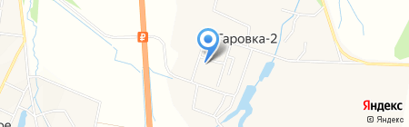 Отделение почтовой связи на карте Гаровки 2