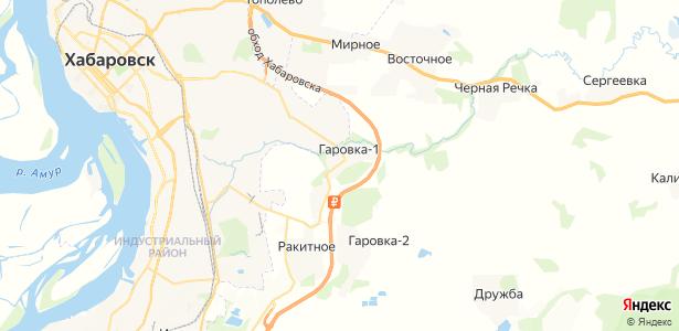 Гаровка-1 на карте