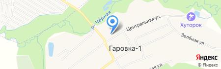 Средняя общеобразовательная школа с. Гаровка-1 на карте Гаровки 1