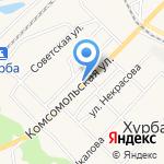 Магазин автотоваров и товаров для рыбалки на карте Комсомольска-на-Амуре