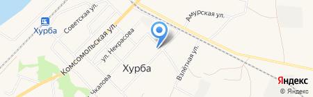 ТЕПЛО-ЭНЕРГЕТИЧЕСКИЙ КОМПЛЕКС С. ХУРБА на карте Хурбы