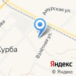 Коммунальные электрические сети Комсомольского района на карте Комсомольска-на-Амуре
