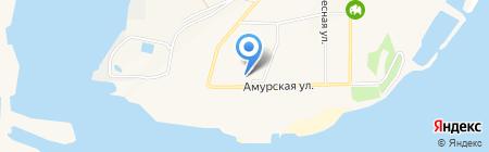 Бирюза на карте Амурска