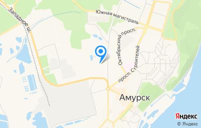 Местоположение на карте пункта техосмотра по адресу Хабаровский край, г Амурск, пр-кт Мира, д 51