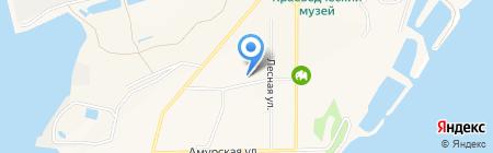Самбери на карте Амурска