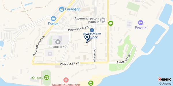 Центр социальной помощи семье и детям на карте Амурске