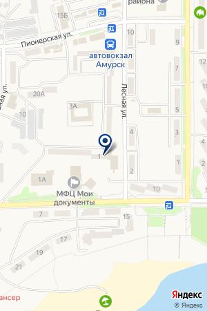 Платежный терминал, Сбербанк России на карте Амурска