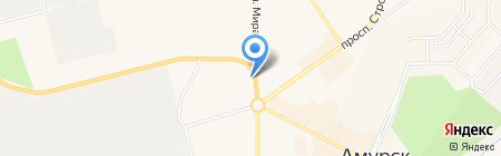Путник на карте Амурска