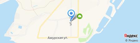 Колымская на карте Амурска