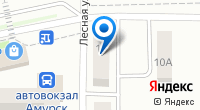 Компания АМУРИНФОСЕТЬ на карте