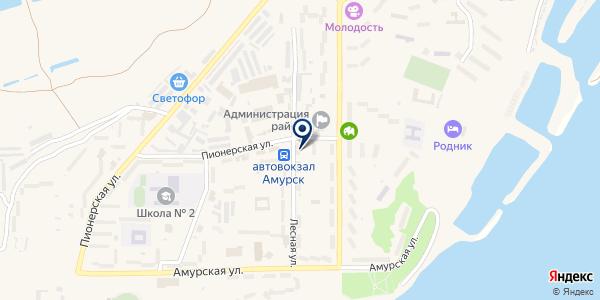 Управление по обеспечению и содержанию муниципального хозяйства на карте Амурске