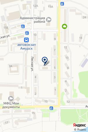 Юность на карте Амурска