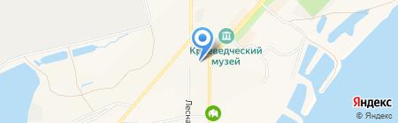 Россиянка на карте Амурска