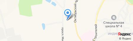 МУРАВЕЙ на карте Амурска